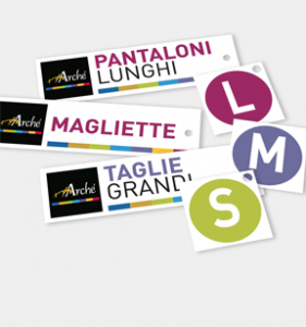 Arché - Logo, roll-up