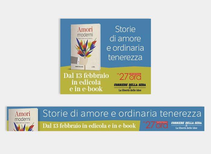 Amori moderni - Campagna stampa RCS