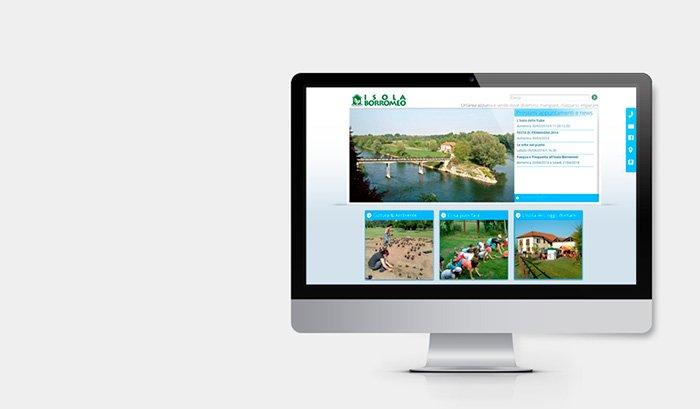 Il progetto Isola Borromeo, guidato dalla Cooperativa Sociale Alboran, prevede la riqualificazione di un'intera area racchiusa tra il fiume Adda e due canali artificiali e il recupero di una cascina che è ora sede di diverse attività turistico-ambientali. Per raccontare e mostrare i risultati, l'agenzia web, agenzia di comunicazione e cooperativa sociale Pensieri e Colori realizza il nuovo sito web. Impattante, chiaro, informativo, il sito è responsive, visualizzabile cioè su pc, tablet e smartphone. Isola Borromeo: l'isola che c'è!