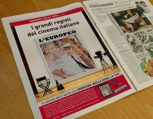 L'Europeo - Campagna stampa e sito promozionale