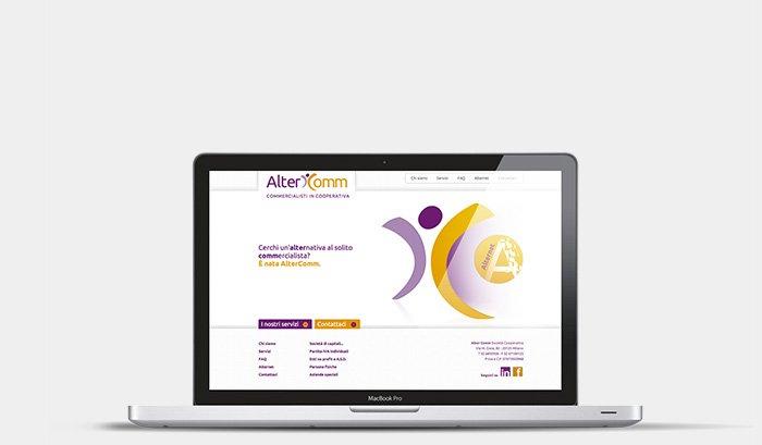 Alter Comm - Logo, sito, comunicazione istituzionale