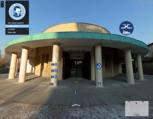 Esterno santuario e museo don Gnocchi