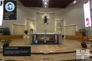 Tour Virtuale Santuario Don Gnocchi Milano