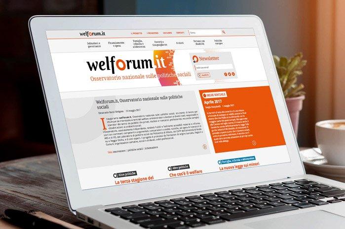 Progetto di comunicazione e nuovo sito per Welforum.it - by Pensieri e Colori onlus