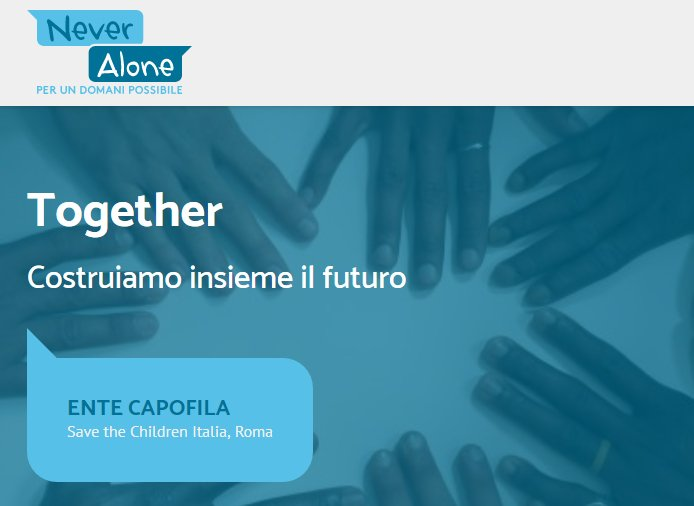 Together progetto Never Alone